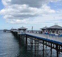 Pier Under The Cloud by Andrew Cryer
