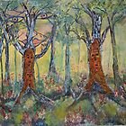 Nature&#x27;s Dreaming of Spirit Trees Dancing by eoconnor