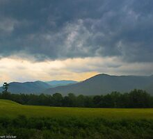 Storm in the Smokey Mountains  by Brett Wicker