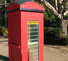 Red Telephone Box by Michael John