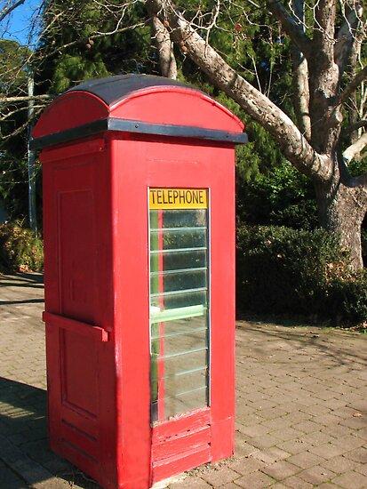 Red Telephone Box by Michael John