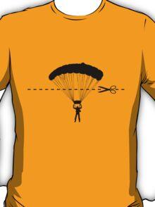 Cut along the line T-Shirt