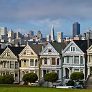 Alamo Square by Radek Hofman