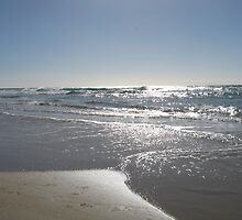 Silver Beach by Victoria Leggatt