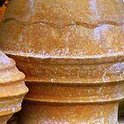 Clay Pots by Carl  Sanjurjo