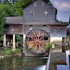 The Old Mill in Pigeon Forge by David Owens