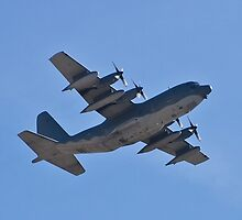 C-130 Hercules side shot by Henry Plumley