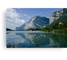 Mist over the Lake    (view in large) Canvas Print