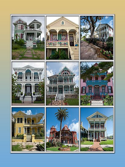 Victorian Homes of Galveston Island by Bonnie T.  Barry