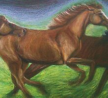 Horses' Gallop by Michelle Spragg