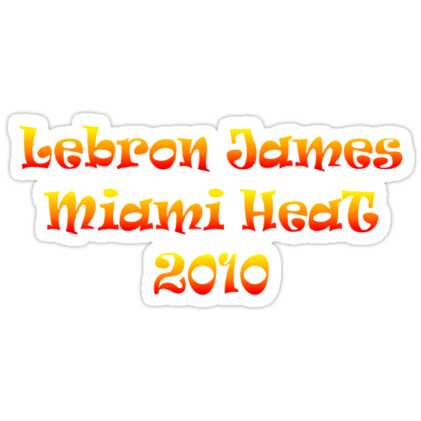 Lebron James Miami Heat  by NewestShirts