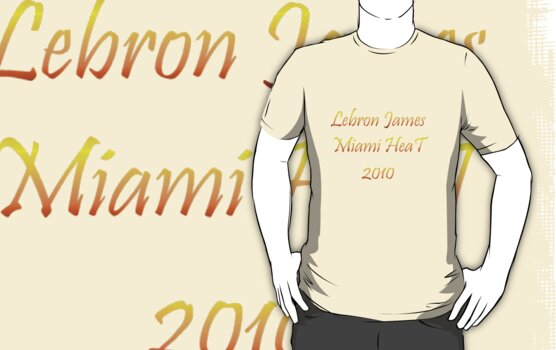 Lebron James Miami Heat 3 by NewestShirts