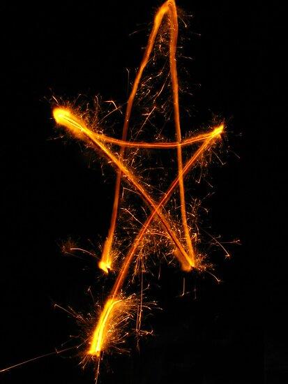 Sparkler Star by MommyJen