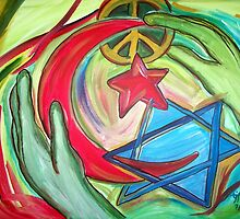 Tikva L'Maan Ha Shalom - Hope for Peace by TrixiJahn