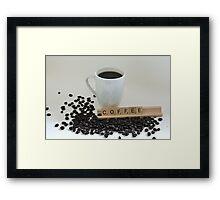Starbucks! Framed Print