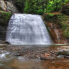 Lower Falls - Stony Brook State Park by Paul Swiatkowski
