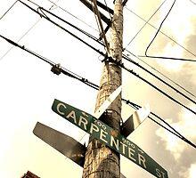 Carpenter Street Cross by Amy E. McCormick