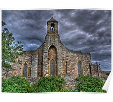 Lindisfarne Church (HDR) Poster