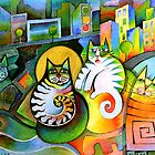 City Cats by Karin Zeller