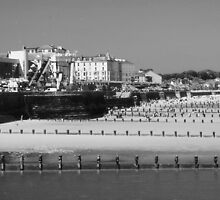 Bridlington North Beach by Craig Bradley