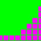Series:27 episode 1 in green and magenta by Justin Clark