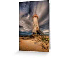 Talacre Lighthouse Greeting Card