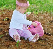 First Easter Egg Hunt by BabyBundtCake
