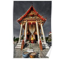 The ThaI Temple Poster