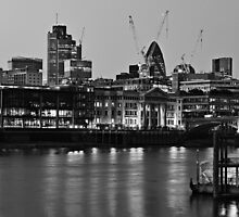 London Panorama by Darren Bell