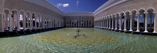 Sultan Omar ali Saiffuddien Mosque Brunei by Ian Smith