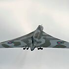 Avro Vulcan XH558 Climb Out by PhilEAF92