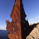 The Wreck Of The &quot;Adolphe&quot;, Newcastle, Australia by muz2142