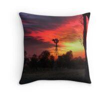 Windmills Churning ( 7) Throw Pillow