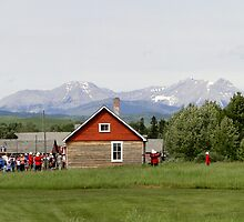 Bar U Ranch, Canada Day 2010 by Al Bourassa