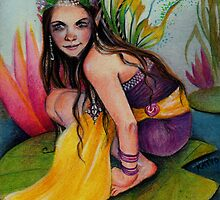 Lynsye Faerie w Locket by KimTurner