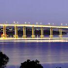 Tasman Bridge - Hobart by Anthony Davey