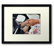 Without words.... Framed Print
