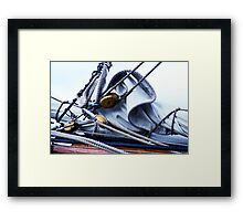 Sailing Lessons.......... Framed Print