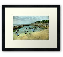 Mousehole Harbour 2 Framed Print