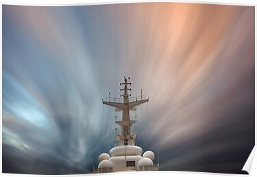 Foremast and Clouds by David Orias