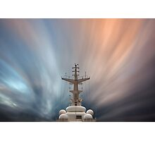 Foremast and Clouds Photographic Print