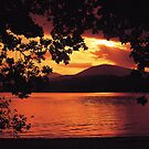 Loch Lomond Sunset by derekwallace