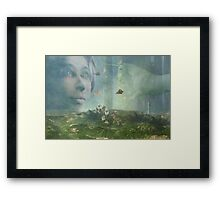 Into the land of my dreams Framed Print