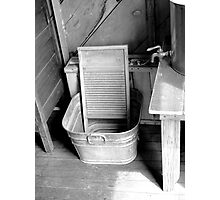 Ready For Laundry  Photographic Print