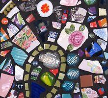 Mosaic Wall by Debbie Robbins