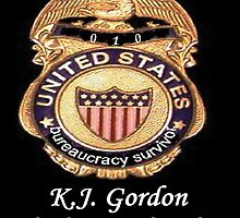 MY OFFICIAL BS BADGE by WhiteDove Studio kj gordon