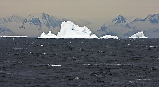Icebergs of Crystal Sound by Robert Elliott