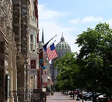 Downtown Harrisburg by vigor