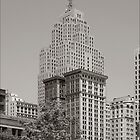 Detroit, the Penobscot building by jeff lamb