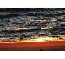 Sunlight On The Surf Photographic Print